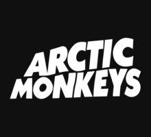 Arctic Monkeys Logo - White by tynamite