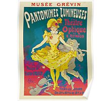 Theatre Optique, French Theater Poster Poster