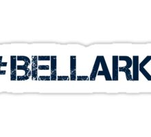 #BELLARKE (Navy Text) Sticker