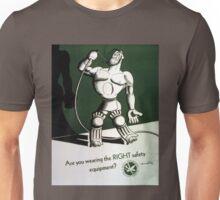 Vintage World War II Safety Equipment Poster Unisex T-Shirt