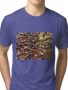 Fungus Collage  Tri-blend T-Shirt