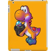 Orange Yoshi with Potted Piranha Plant iPad Case/Skin