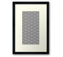 Japanes style pattern Framed Print