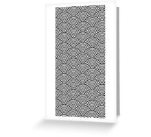 Japanes style pattern Greeting Card