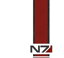 White N7 Stripe by BaDizza
