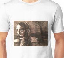 Girl With Broken Chain Unisex T-Shirt