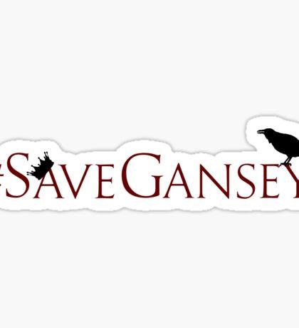 #SaveGansey Sticker