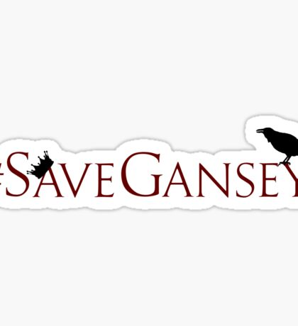 #SaveGansey Sticker