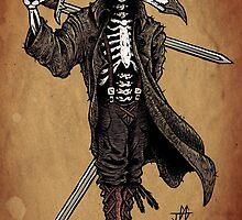 Raven Skull by Jared Gagne