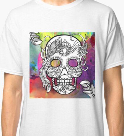 Sugar Skull Color Splash Series Classic T-Shirt