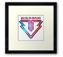 Big Bang - smokey Framed Print
