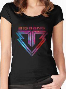 Big Bang - smokey Women's Fitted Scoop T-Shirt
