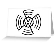 Volkswagen Logo Greeting Card
