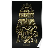 To do it for the MONEY is Treason of the Heart Poster