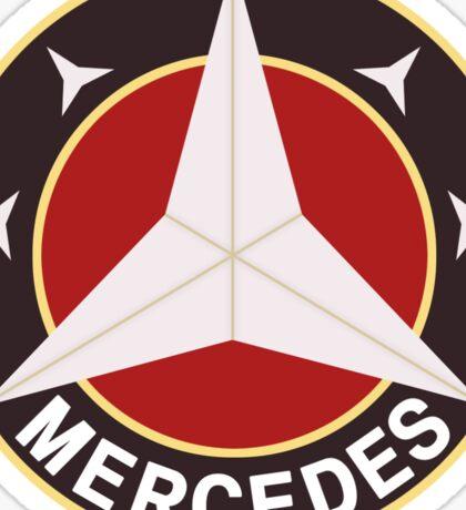 Mercedes Retro 2 Sticker