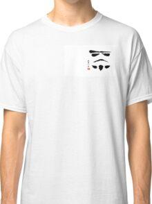 Storm Trooper Brush Stroke Classic T-Shirt