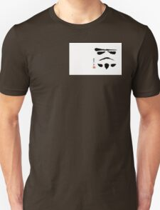 Storm Trooper Brush Stroke T-Shirt