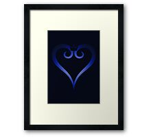 Kingdom Hearts Logo (Gradient) Framed Print