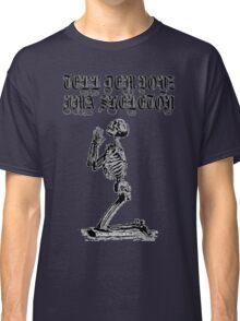 LIL UGLY MANE - TELL DEM BOYZ IMA SKELETON Classic T-Shirt
