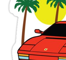 80's Supercar  Sticker
