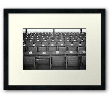 Old Fashioned Baseball Stands Framed Print
