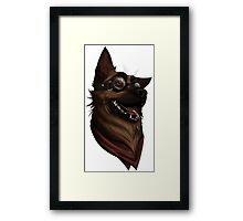 Dogmeat Graphic Framed Print