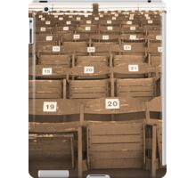 Old Fashioned Baseball Stands iPad Case/Skin