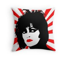 siouxsie and the banshees Throw Pillow