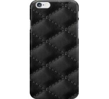 Leather like black iPhone Case/Skin