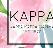 Kappa Kappa Gamma Roses Sticker