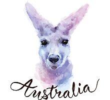 Australian Kangaroo Photographic Print