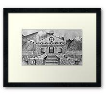 Golden Hall of Edoras Framed Print