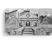 Golden Hall of Edoras Canvas Print