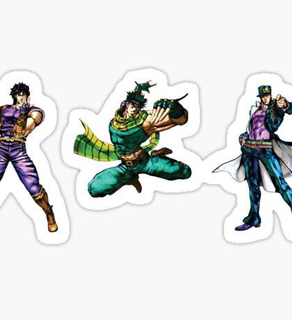 Three Joestars Sticker