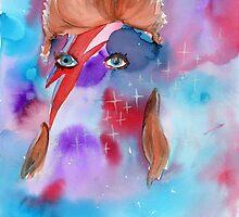 David Bowie by Master-ZuZu