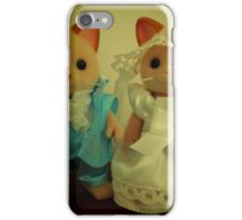 Sylvanian Families ~ Cat Wedding Bride and Groom iPhone Case/Skin