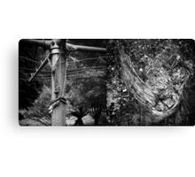 Abandoned Diptych Canvas Print