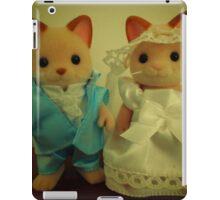 Sylvanian Families ~ Cat Wedding Bride and Groom iPad Case/Skin