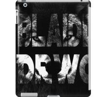 Bad Wolf. iPad Case/Skin