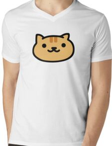 Fred - Neko Atsume Mens V-Neck T-Shirt