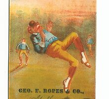 "Vintage Baseball Card ""Muff"" by reddkaiman"