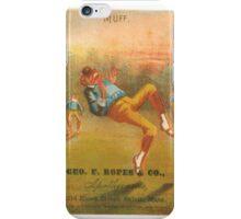 "Vintage Baseball Card ""Muff"" iPhone Case/Skin"
