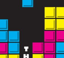 You've been waiting for this - Tetris Sticker