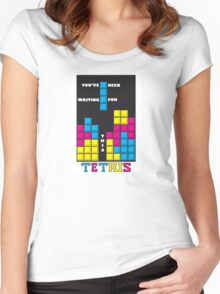 You've been waiting for this - Tetris Women's Fitted Scoop T-Shirt