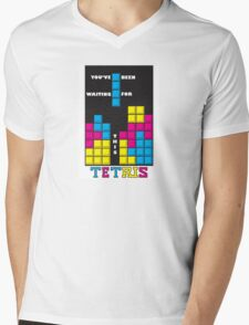 You've been waiting for this - Tetris Mens V-Neck T-Shirt