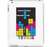 You've been waiting for this - Tetris iPad Case/Skin