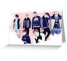 Monsta X Greeting Card