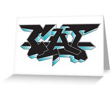 CAT | Graffiti Greeting Card