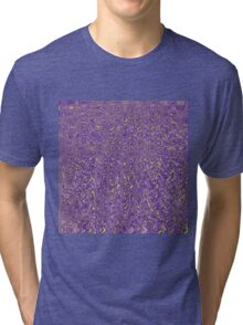 Abstract Read Between The Funk (in yellow) Tri-blend T-Shirt