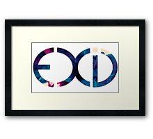 Exid Logo - Smokey Framed Print
